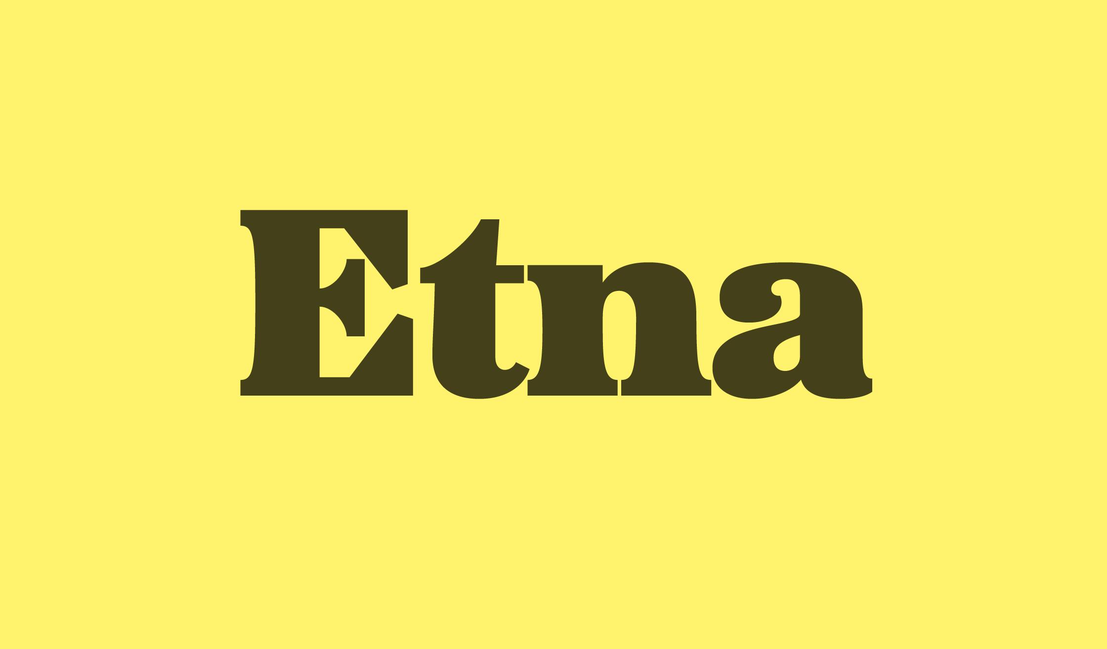Etna Banner Name 2240