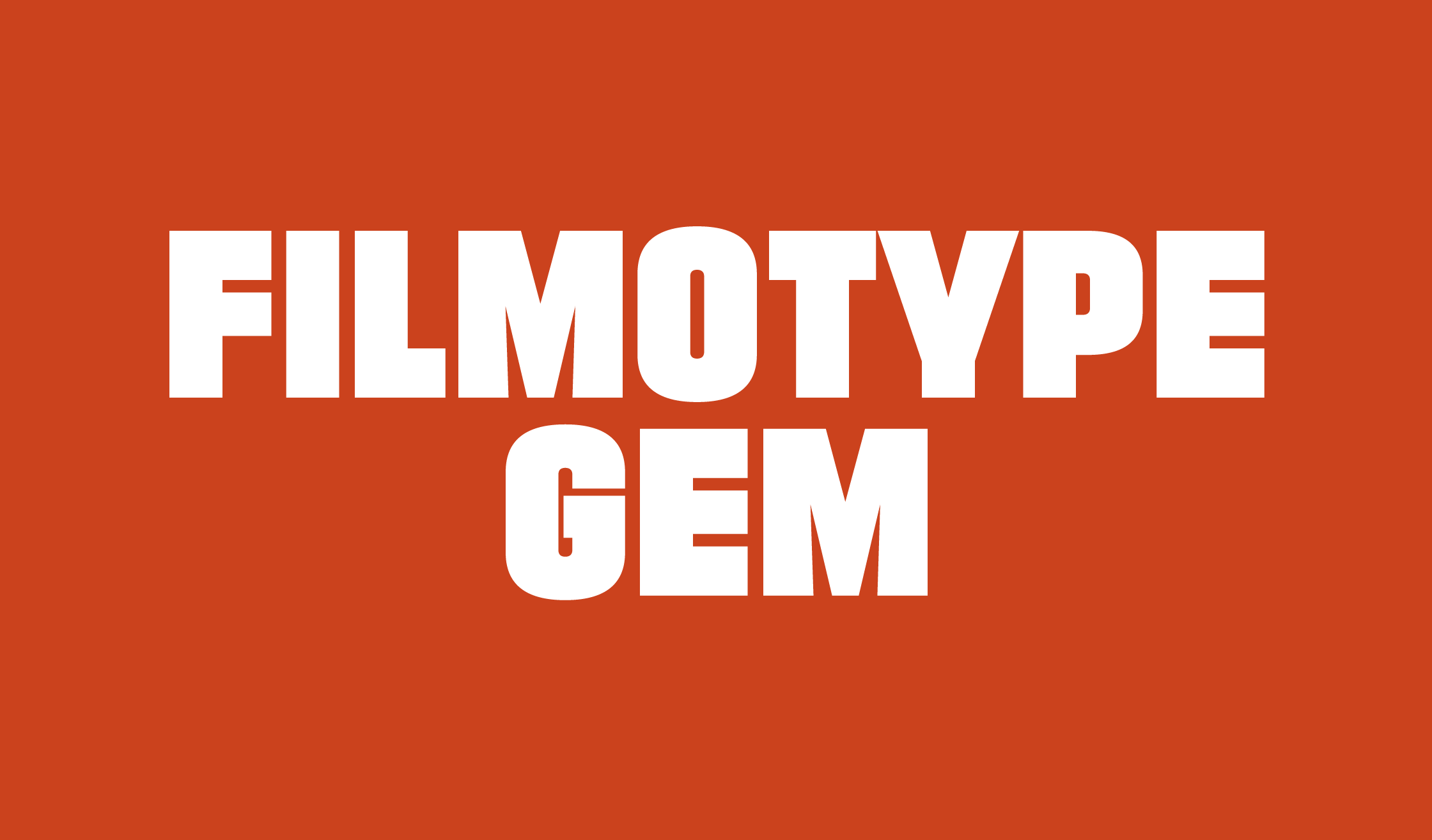 Filmotype Gem Banner Name 2240
