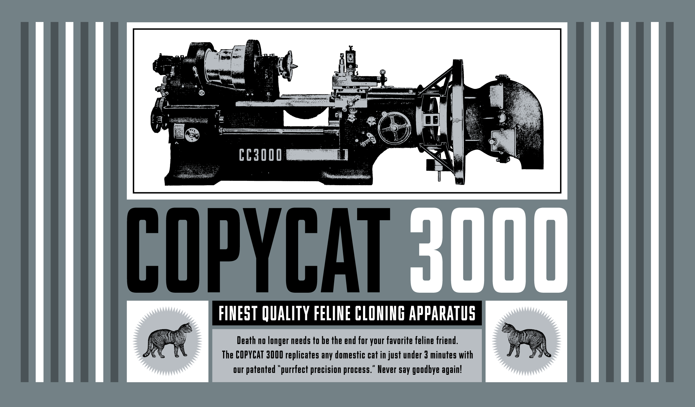 Filmotype Glenlake Banner Sample 2240