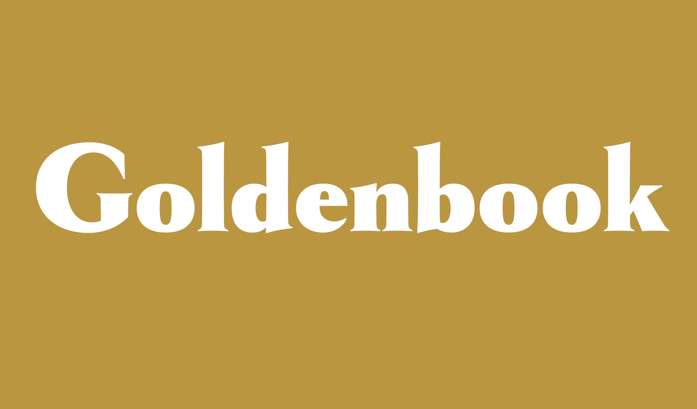 Goldenbook Banner Name 2240