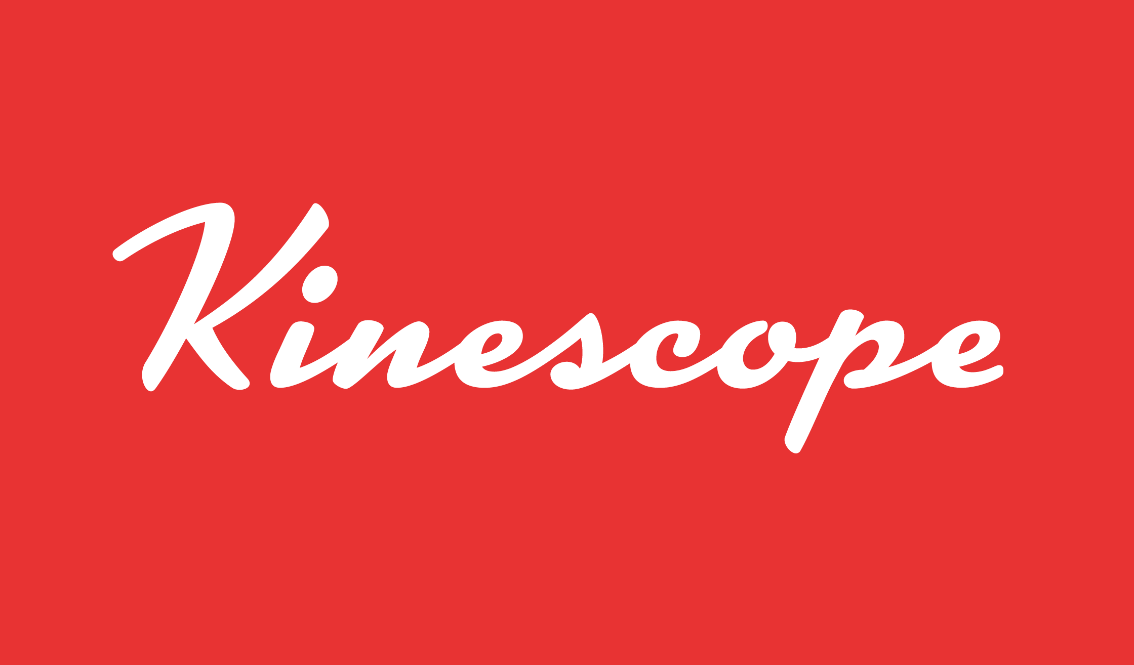 Kinescope Banner Name 2240