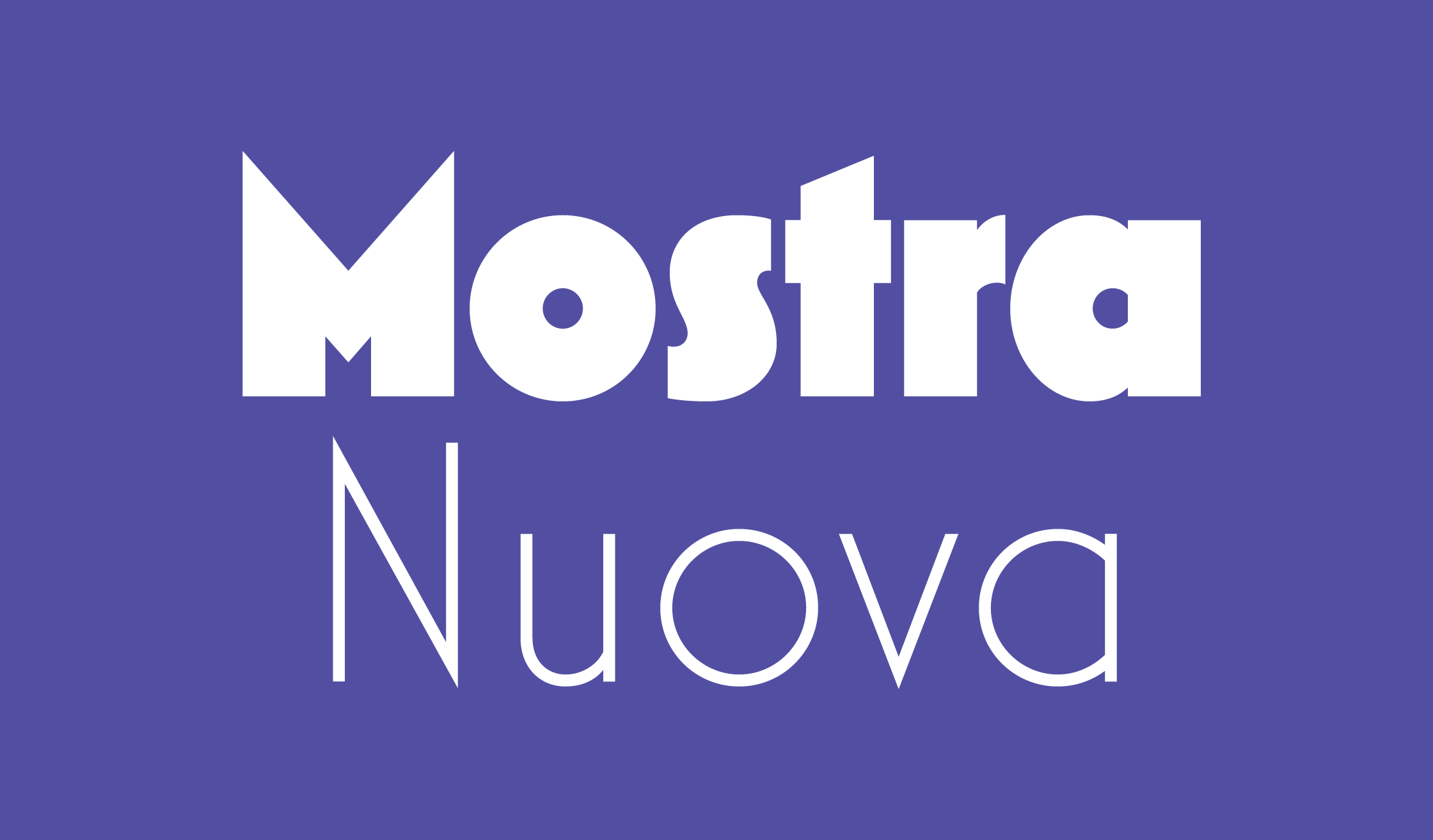 Mostra Nuova Banner Name 2240