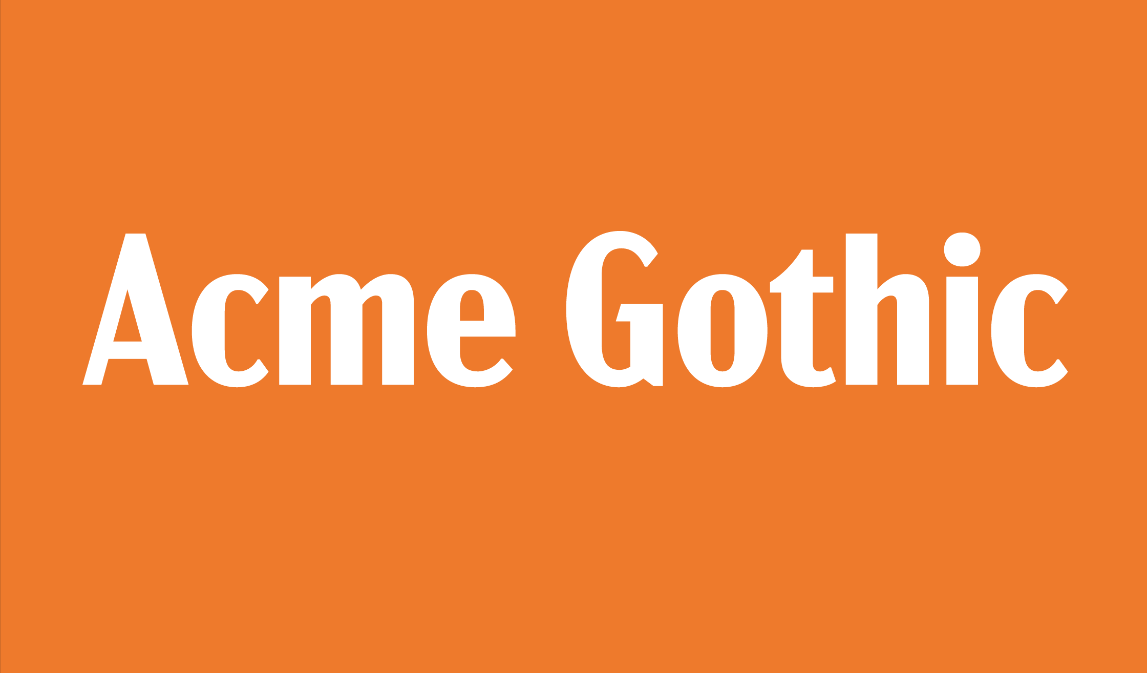 Acmegothic Banner Name 2240