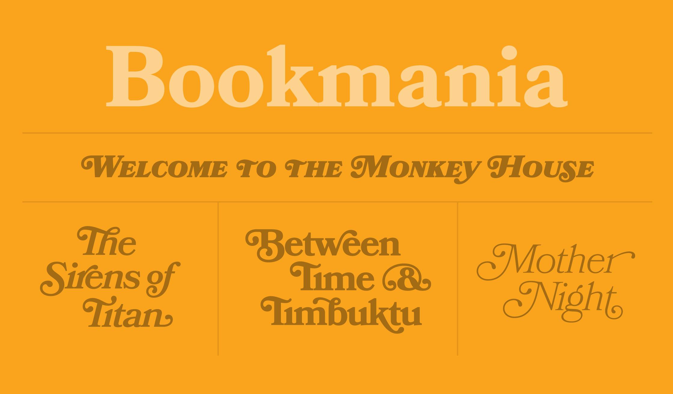 Bookmania Specimen
