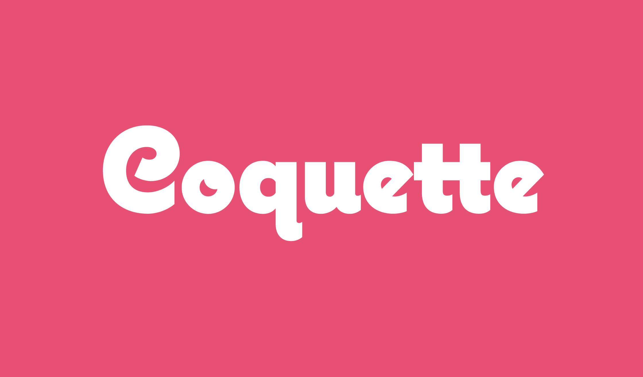 Coquette Banner Name 2240