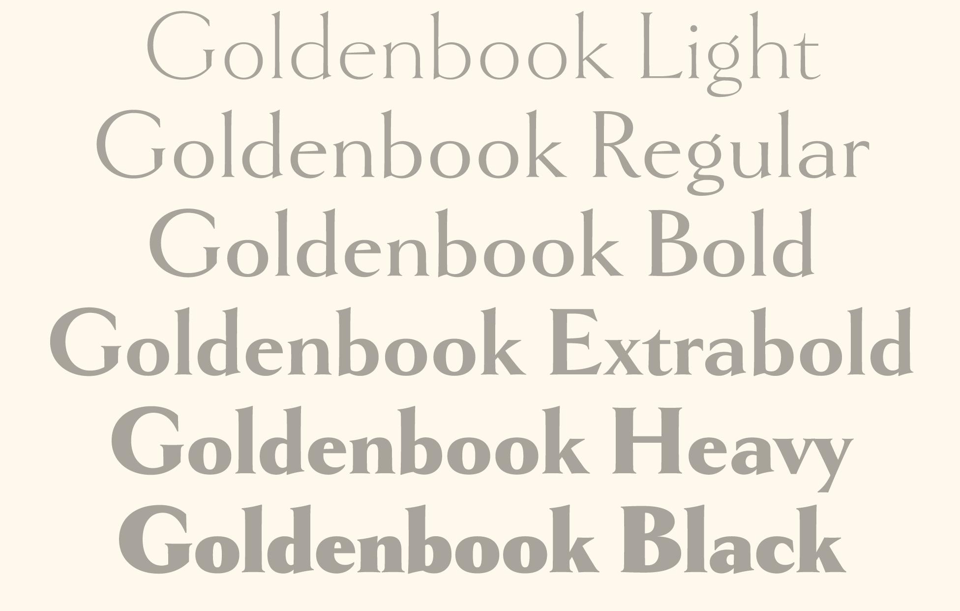 Goldenbook Mark Simonson