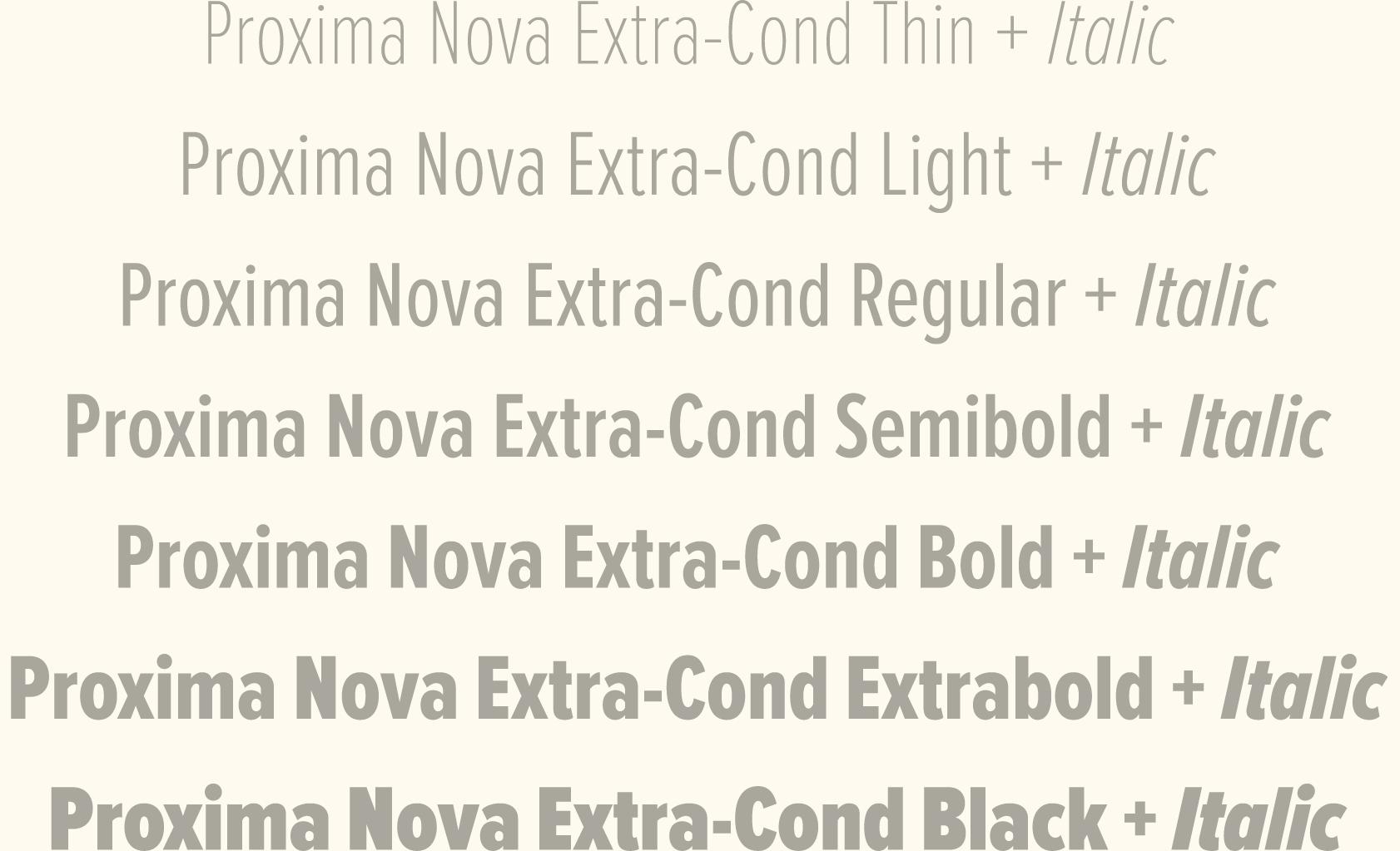 Extra Condensed