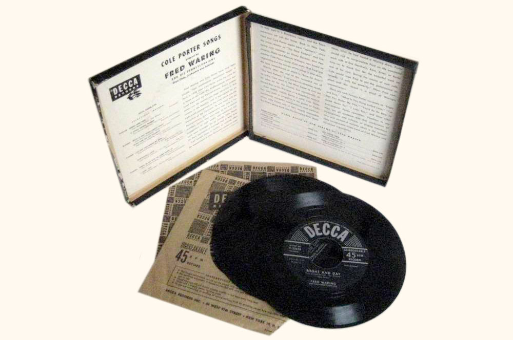 A record album from 1949