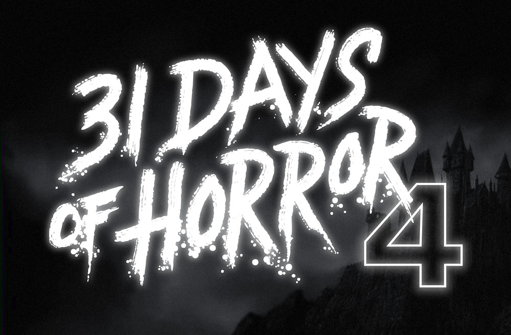 31 Days of Horror web graphic