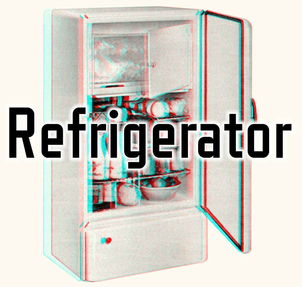 Refrigerator 3D image