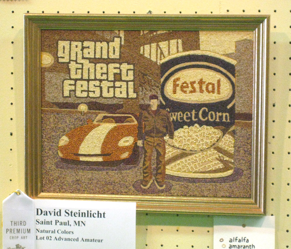 Grand Theft Festal seed art