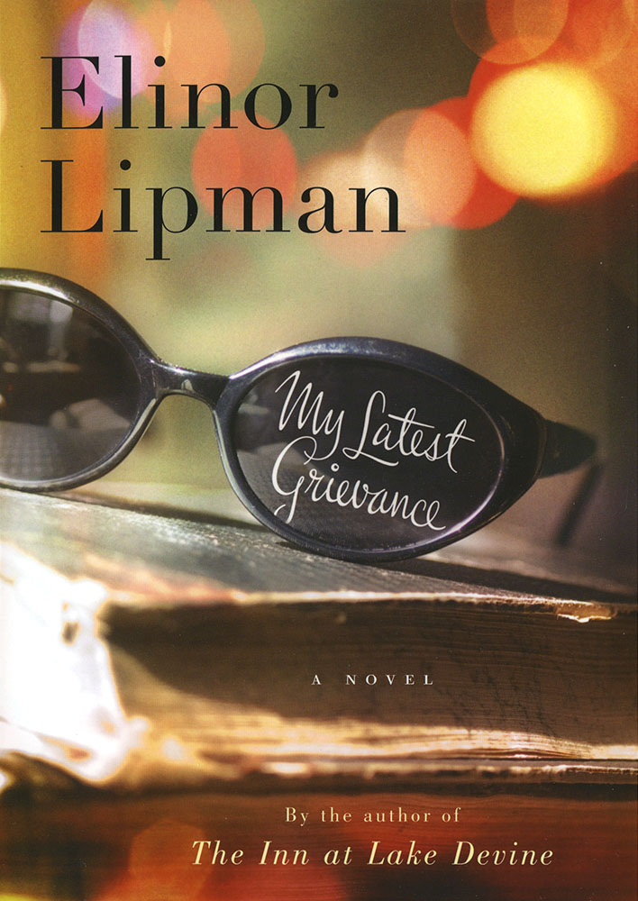Cover of the new Elinor Lipman novel.
