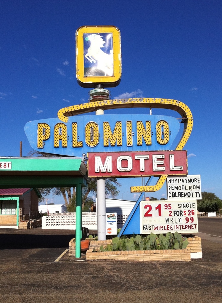 Old Rt 66 >> Palomino Motel on Route 66 - Mark Simonson