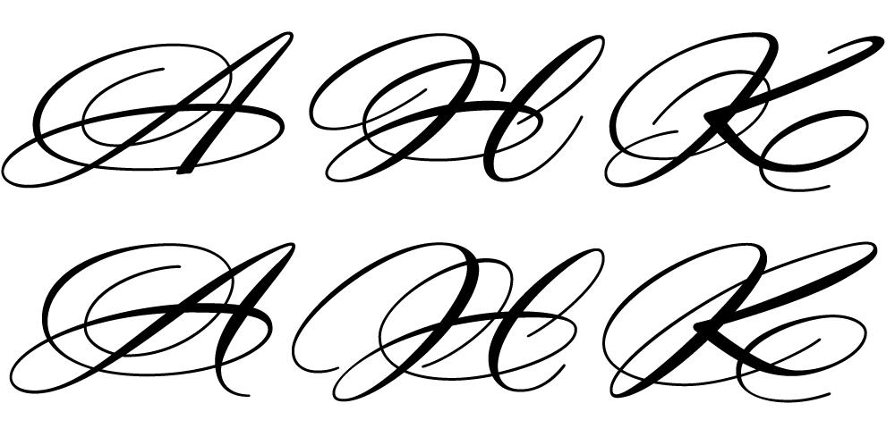 'Prototype' caps.