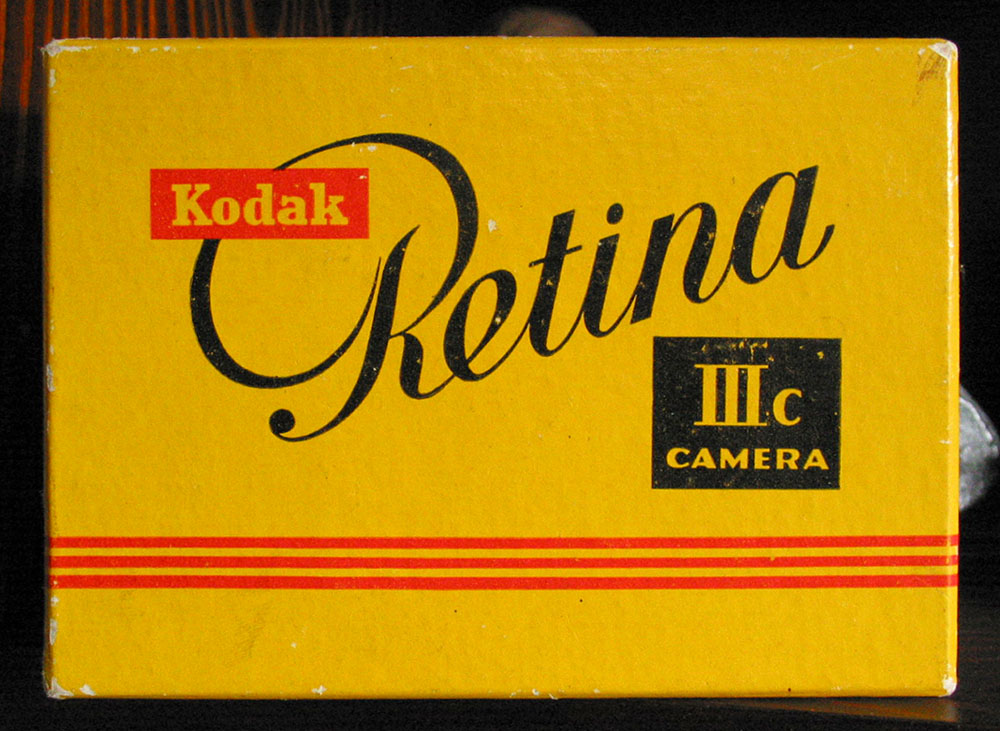 Kodak Retina IIIc camera box