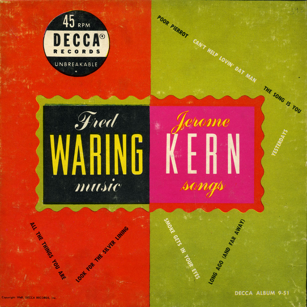 Fred Waring Music/Jerome Kern Songs