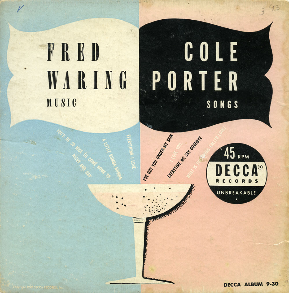 Fred Waring Music/Cole Porter Songs